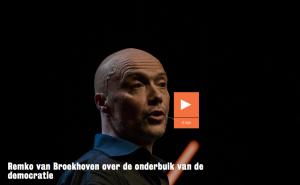 Remko van Broekhoven over de onderbuik van de democratie
